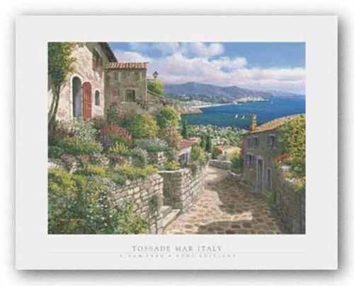 Tossade Mar Italy by S. Sam Park