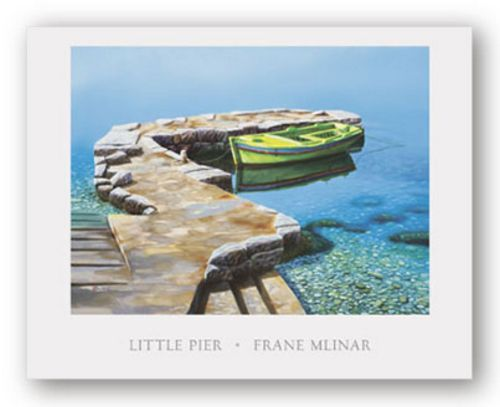 Little Pier by Frane Mlinar