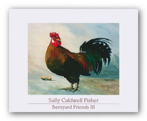 Barnyard Friends III - Balzac by Sally Caldwell Fisher