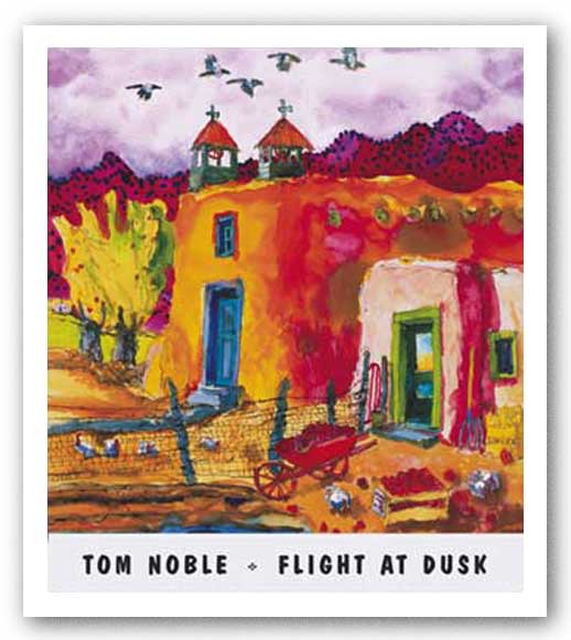Flight at Dusk by Tom Noble