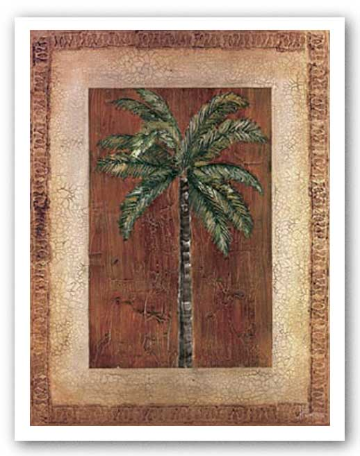 Palm With Border I by Heather Duncan