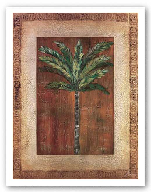 Palm With Border II by Heather Duncan