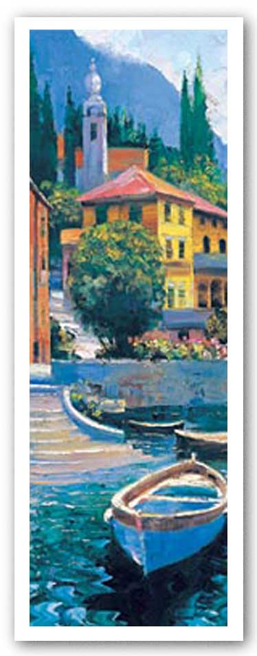 Lake Como Crossing Panel I by Howard Behrens