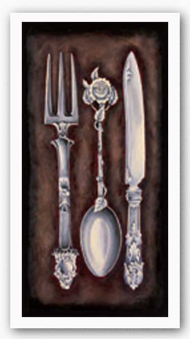 Utensils II by Jennifer Goldberger