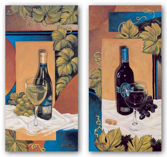 Wine Set by Diana Martin