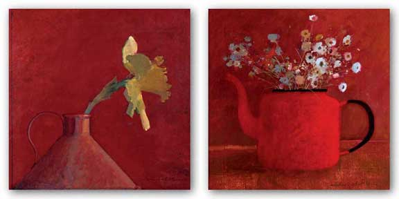 Red Thoughts Set by Michael Whittlesea
