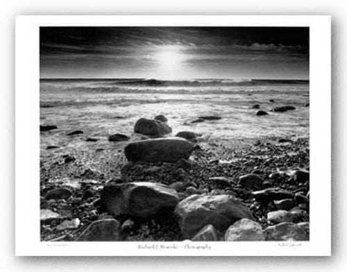 Sun, Surf and Rocks by Richard Nowicki