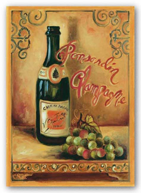Ponsardin Champagne by Shari White
