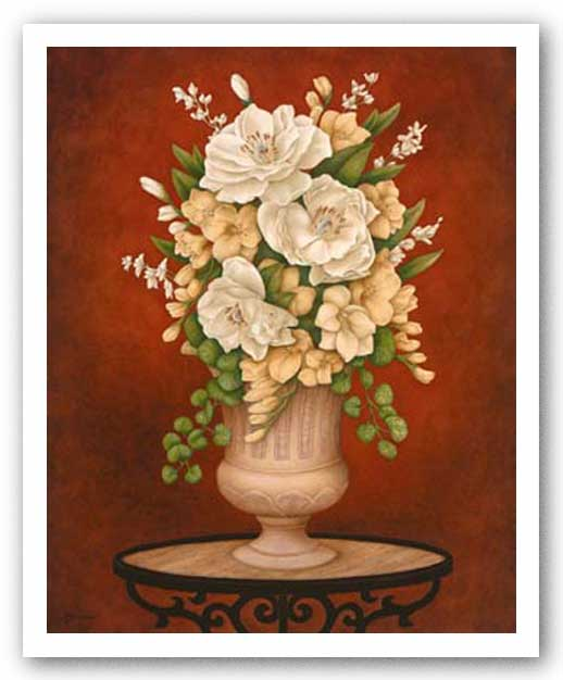 White Bouquet I by Anna Browne