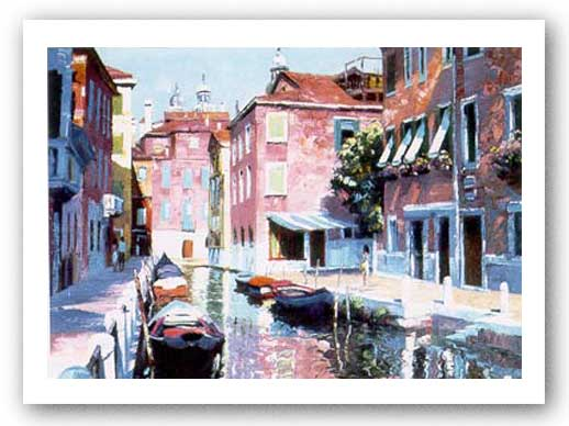 Venetian Canal by Howard Behrens