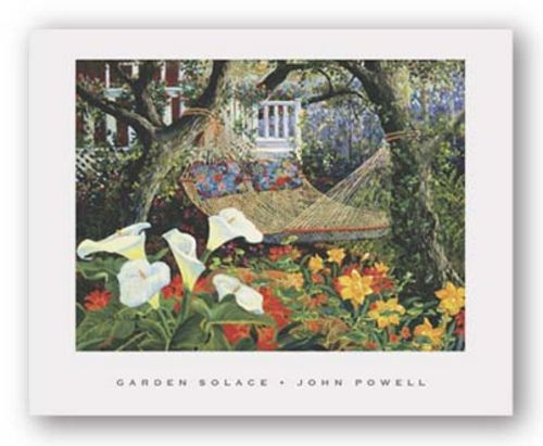 Garden Solace by John Powell