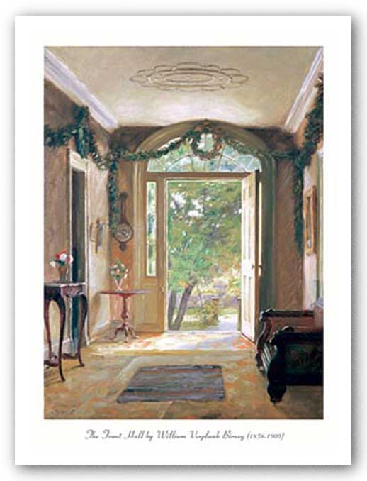 The Front Hallway by William Verplank Birney