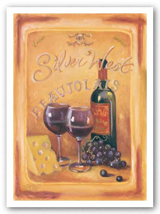 Silver West Beaujolais by Shari White