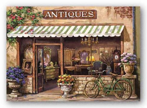 Antique Shop by Sung Kim