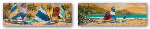 Little Bay Trio-Grand Bay Sails Set by Joe Sambataro