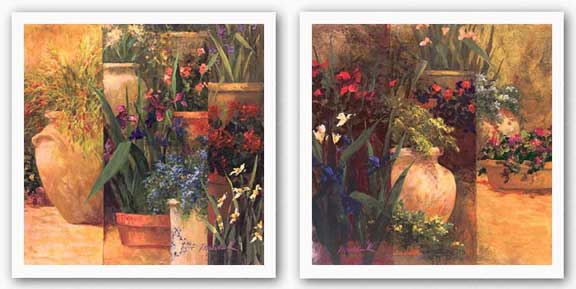Flower Pots Set by Art Fronckowiak