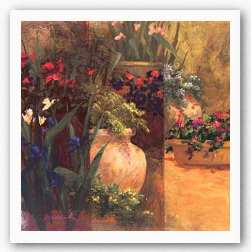 Flower Pots Right by Art Fronckowiak