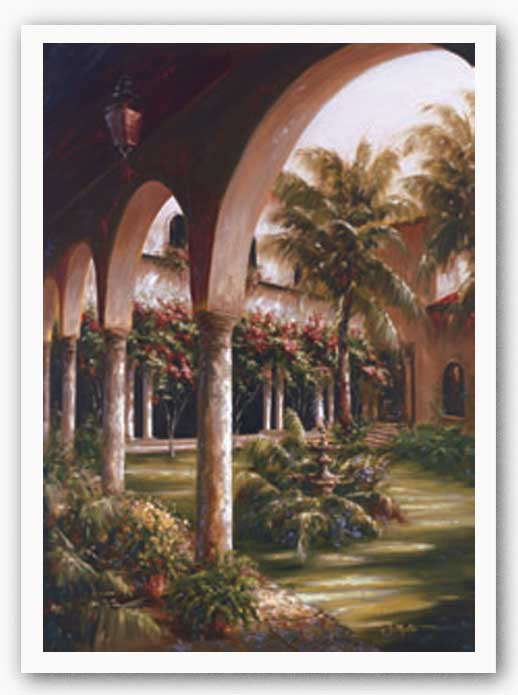 Palm Entrance I by J. Martin