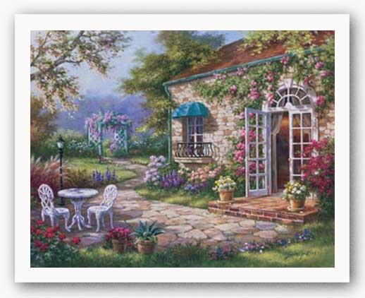 Spring Patio II by Sung Kim