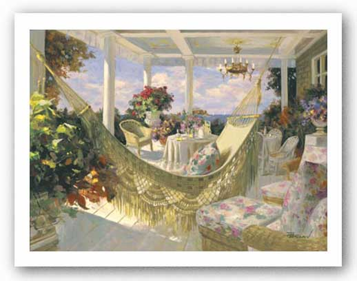 Summer Veranda by Tim Benjamin