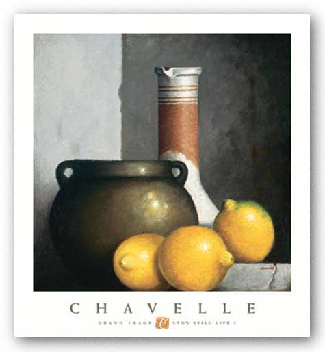 Lyon Still Life I by Rene Chavelle