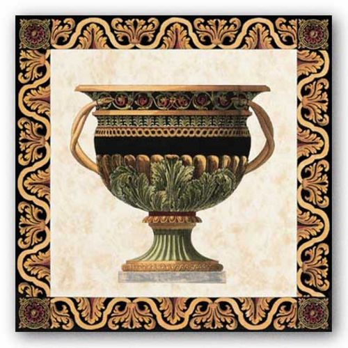 Roman Urn I by Old World Prints
