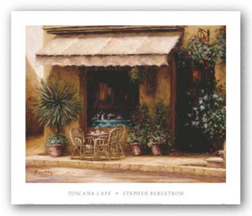 Toscana Cafe by Stephen Bergstrom