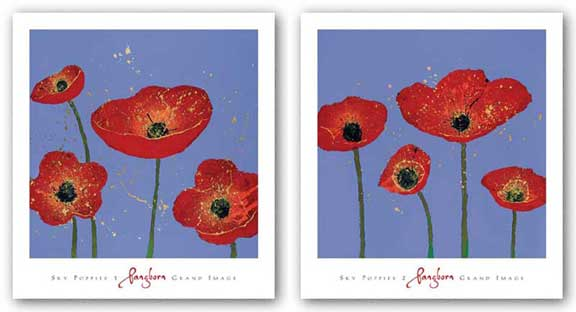 Sky Poppies Set by Dominic Pangborn