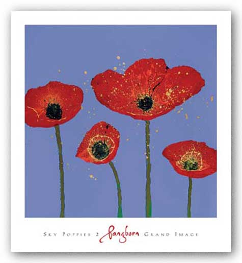 Sky Poppies 2 by Dominic Pangborn