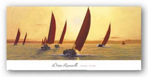 Sailing, Sailing by Diane Romanello