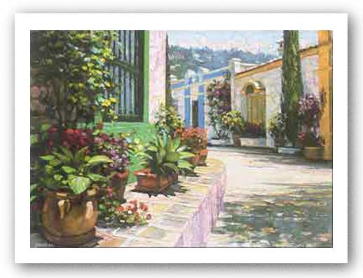Andalusian Walkway by Howard Behrens