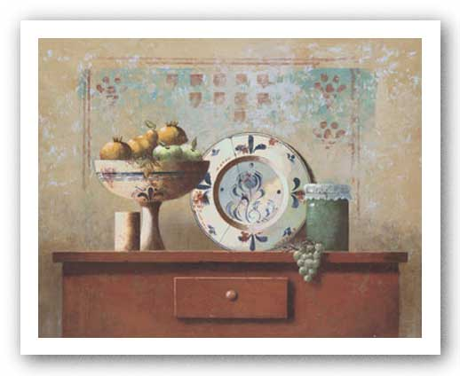 Still Life with Fruit I by Coral
