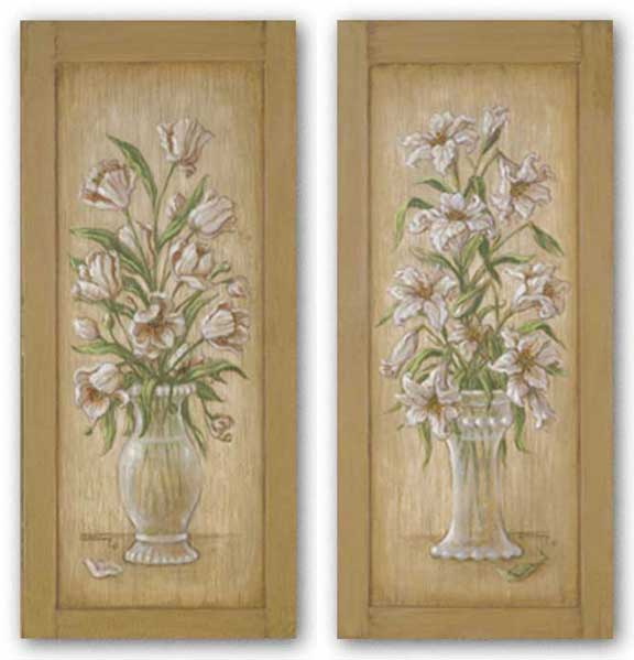 Lily Cupboard and Tulip Cupboard Set by Janet Kruskamp