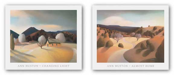 Almost Home and Changing Light Set by Ann Huston