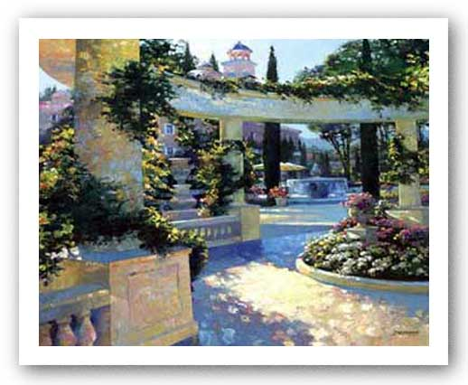 Bellagio Garden by Howard Behrens