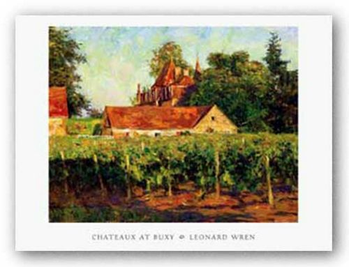 Chateaux at Buxy by Leonard Wren