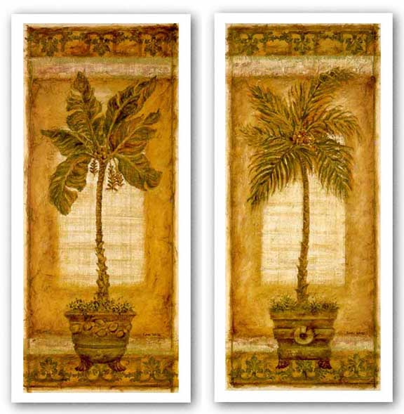 Palmera Coconut and Palmera Banana Set by Shari White
