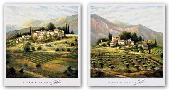 Village At Vaucluse and Village At Trigance Set by Joe Sambataro