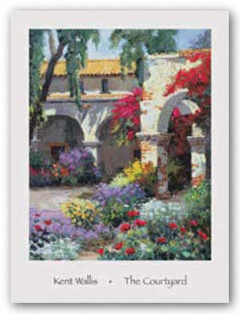 The Courtyard by Kent Wallis