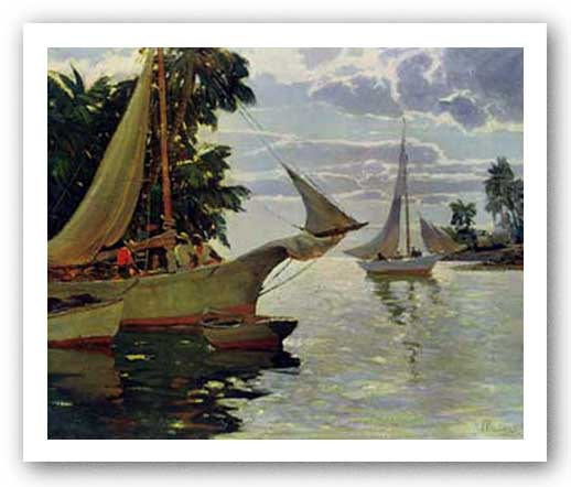 In The Bahamas by Anthony Thieme