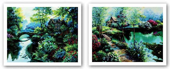 Garden Reflection and Garden Inspiration Set by Richard King