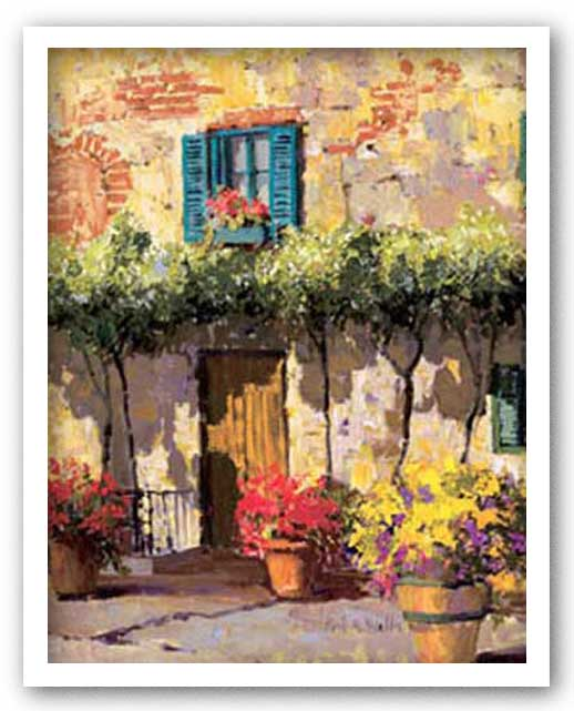 Italian Doorway by Kent Wallis
