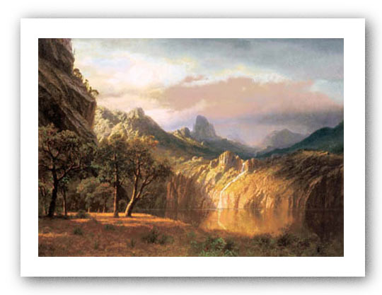 In The Valley by Albert Bierstadt