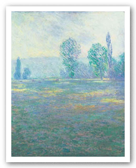 A Meadow In Giverny by Claude Monet