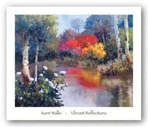 Vibrant Reflections by Kent Wallis