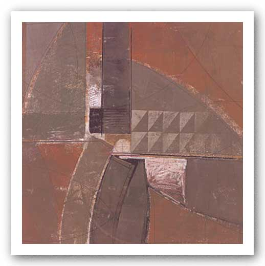 Abstract Mocha I by Boze Miller