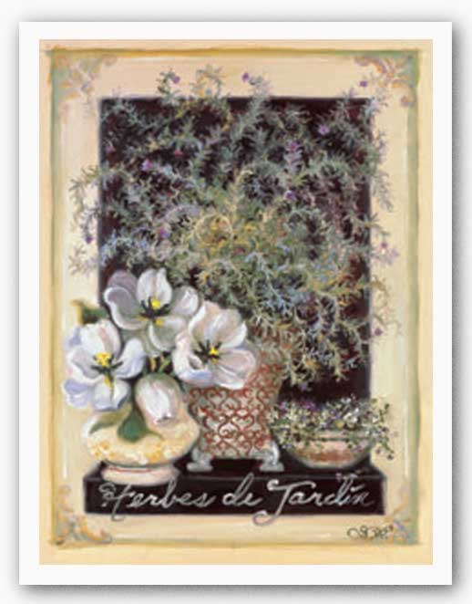 Herbes de Jardin by Shari White