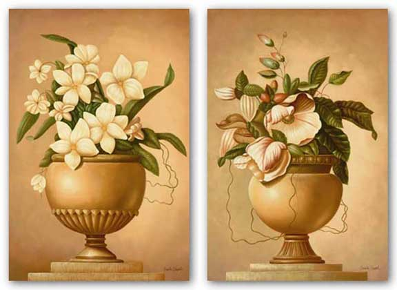 Golden Blossoms Set by Annalee Shepard