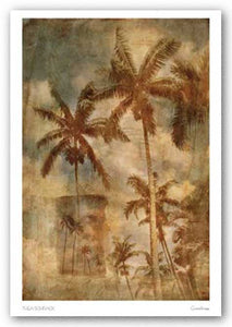 Retro Palms 1 by Thea Schrack