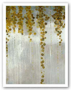 Gold Swirls by Lisa Kowalski